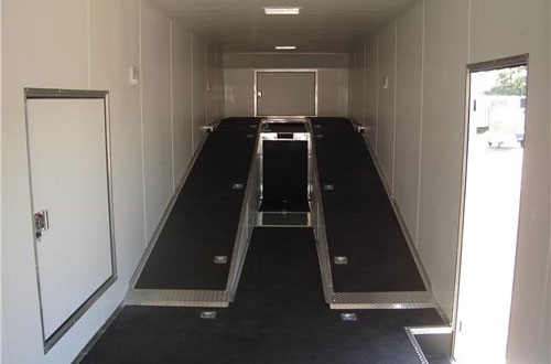 Enclosed trailer for your golf transport