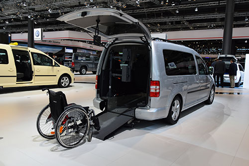 Transport a handicap van