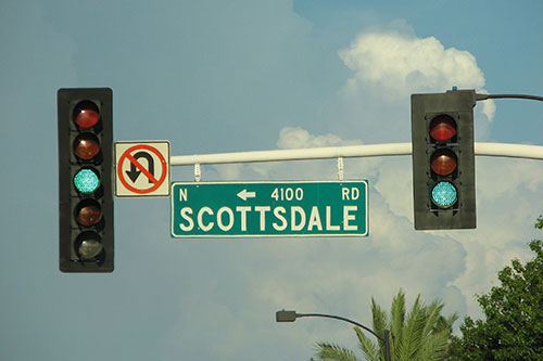 Scottsdale street sign