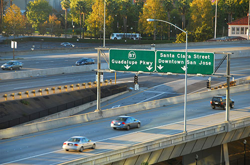 San Jose Freeway