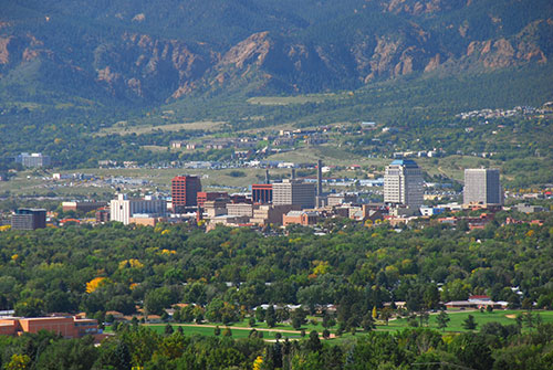 Colorado Springs City View