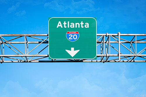 atlanta freeway sign