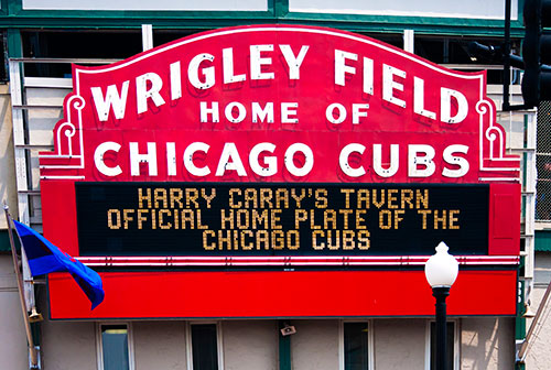 chicago cubs stadium