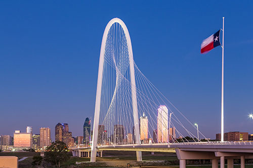 Dallas transport bridge