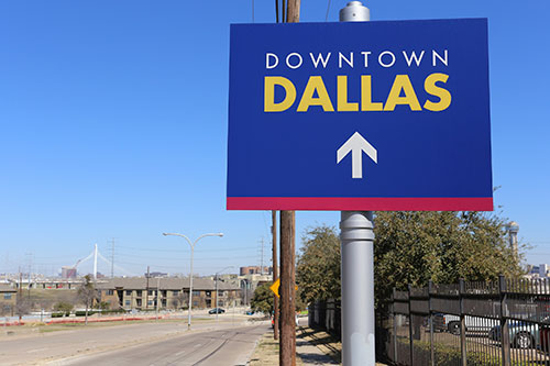 ship a car to downtown Dallas
